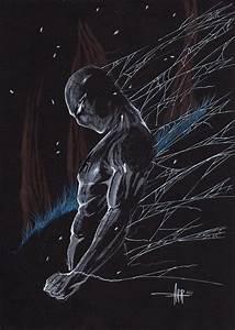 Spiderman on black paper Comic Art | Comic Art | Pinterest ...