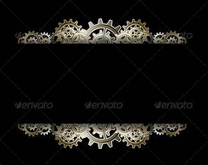 Keynote Game Show Template Steampunk Gears Frame By Blackspring Graphicriver
