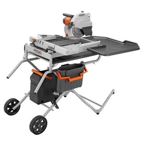 home depot ridgid tile saw tile saw workforce thd550 the home depot community