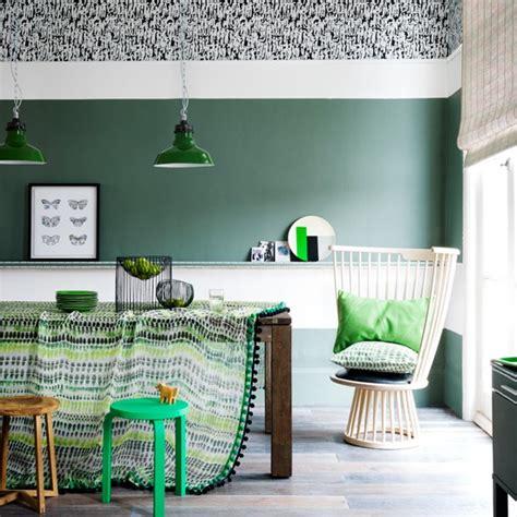 emerald green decorating ideas emerald green and white dining room dining room decorating ideas housetohome co uk