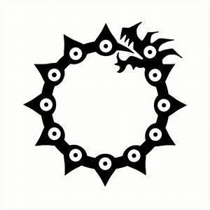 """Nanatsu no taizai: Anger symbol"" Art Prints by cerebrare"