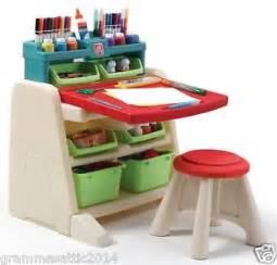 kids art table easel craft desk storage toddler preschool