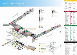 Indianapolis Airport Terminal Map