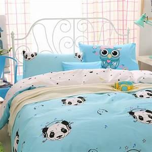 Housse De Couette Panda : achetez en gros panda couette en ligne des grossistes panda couette chinois ~ Teatrodelosmanantiales.com Idées de Décoration