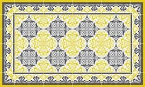 Tapis Façon Carreaux De Ciment : tapis vinyle carreau de ciment ~ Preciouscoupons.com Idées de Décoration