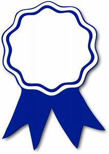 award ribbon blue t free images at clkercom vector With 1st prize ribbon template