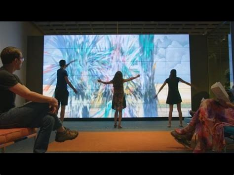 augmented reality  kinect create unique art experience