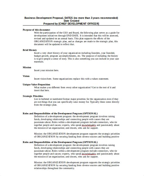 business development proposal templates business proposal 19 free pdf word psd documents
