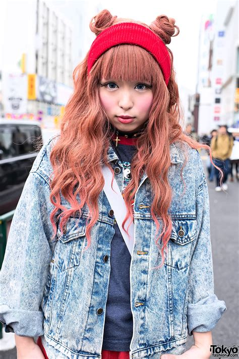 Japanese Hairstyles Buns by Japanese Buns Hairstyle In Harajuku Tokyo Fashion