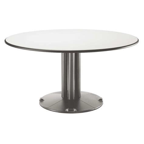 table salle a manger design pied central wordmark