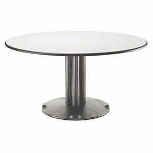 Pied Table Central : table ronde avec pied central galerie avec table ronde ~ Edinachiropracticcenter.com Idées de Décoration