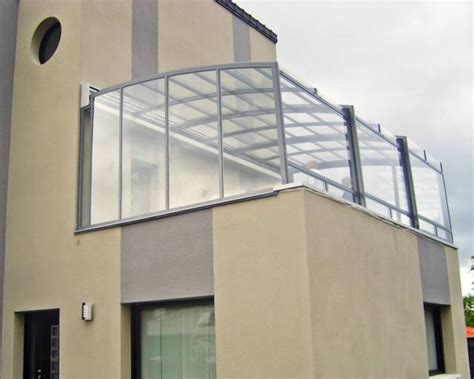 verande in vetro per terrazzi coperture terrazzi