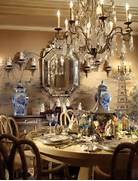 Pics Of Dining Room Chandeliers by One Chandelier Two Chandeliers Or Three Sheri Martin Interiors