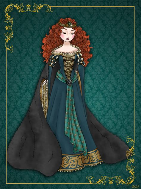 Queen Merida   Disney Queen designer collection by GFantasy92 on DeviantArt