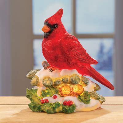Cardinal Decor - cardinal light table decoration from collections