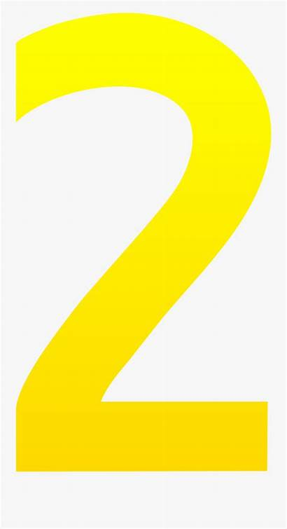 Number Clip Yellow Clipart Clipartkey