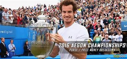 Aegon Championships Money Breakdown Prize Purse