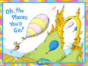 Image result for oh the places you'll go