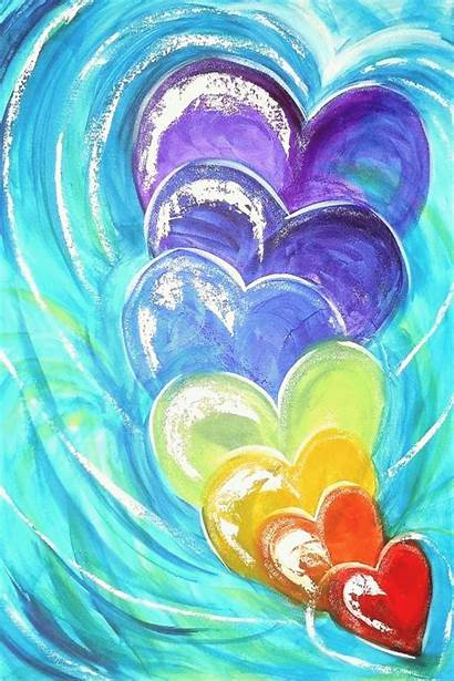 Heart Toprated20 Kaynak Abstract Painting Sanat