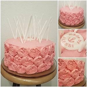 Die besten 25+ Geburtstagstorte mit Blumen Ideen auf Pinterest Zuckerguss blumen, Cupcake