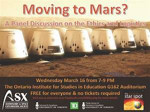 Moving to Mars? A Panel Discussion on the Ethics and ...