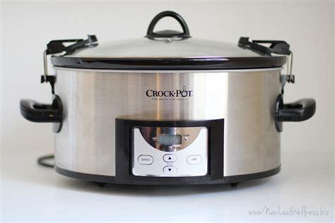 my favorite crock pot 6 quart programmable cooker