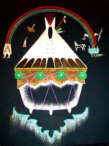 Native American Church Art Designs