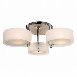 Fresh bulb flush mount ceiling light fixture in
