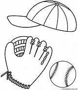 Coloring Baseball Glove Balls Ball Cap Stuff Softball Sport Drawing 86ef Printable Rugby Clipart Father Fathers Stadium Bigactivities Pich Fast sketch template