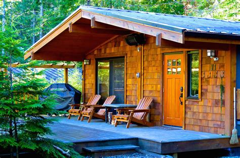 port renfrew accommodation handsome dans cottages