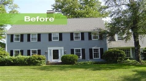 colonial home colonial home additions before and after colonial home