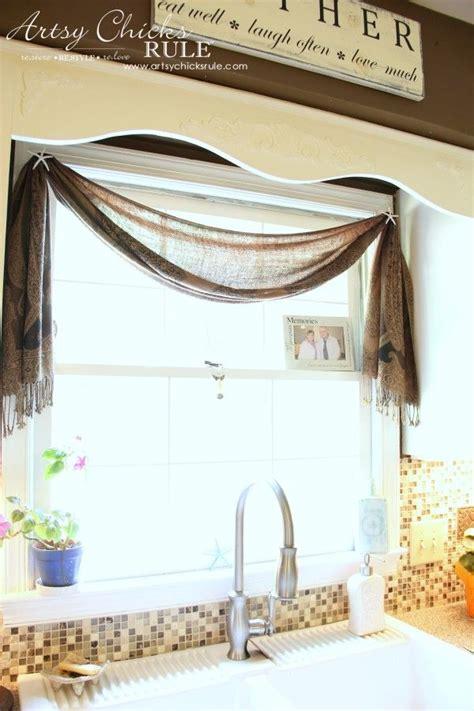 Kitchen Scarf Valance by Best 25 Scarf Valance Ideas On Hippie