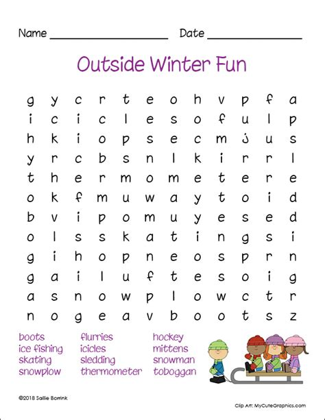 free printable winter word searches a quiet simple life with sallie borrink