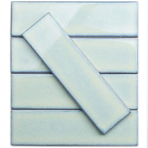splashback tile vintage light blue 3 in x 9 in x 8 mm