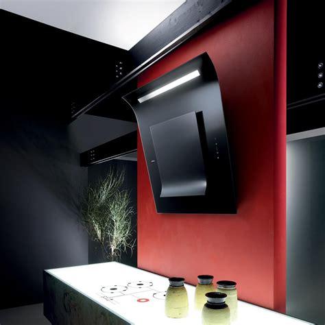 sinfonia wall kitchen hood elica design