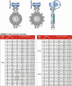 Flange End  U0026 Bw End Butterfly Valve 600lbs