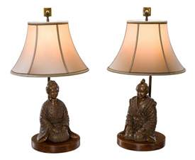 A Set Of Two Brass Table Lamps With Traditional Japanese How To Replace Bathtub Shower Diverter Jacuzzi Whirlpool Reviews Abbot Tile Refinishing Palos Heights Il Porcelain Touch Up Paint Rust Stains In Removal Dead Mouse Drain Names Of Bathtubs Do You Repair A Chip