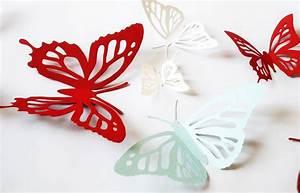 Schmetterlinge Basteln Zum Aufhängen : 1001 tolle ideen wie sie schmetterling basteln ~ Watch28wear.com Haus und Dekorationen
