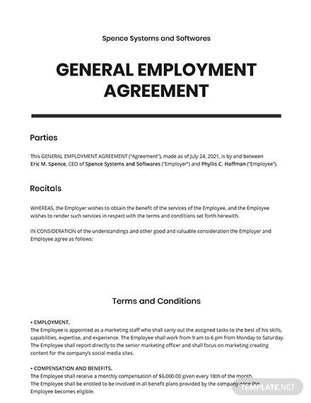 FREE Certificate of Employment Template - Word (DOC) | PSD | InDesign | Apple (MAC) Pages