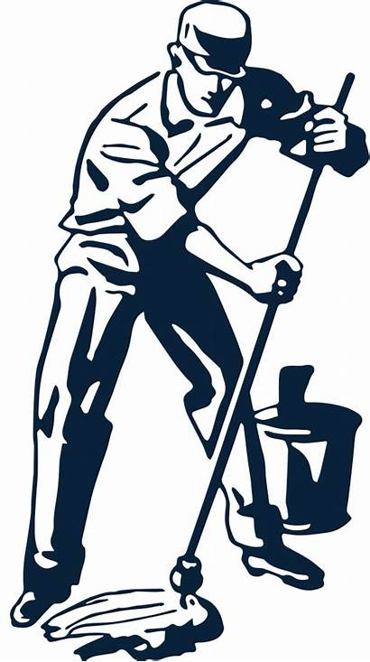 Clipart Janitor Cleaning Street Sweeper Seattle Area