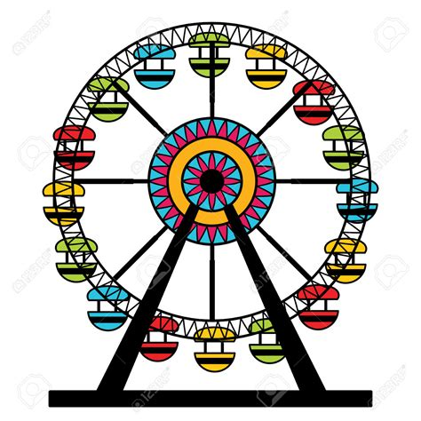 Ferris Wheel Clip Riesenrad Clipart Kostenlos Bbcpersian7 Collections