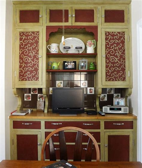 21 best stenciled cabinet doors images on pinterest
