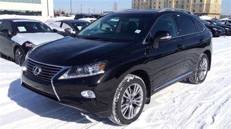 lexus rx black 2014 lexus rx 350 awd technology package review in black