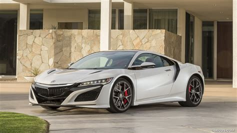 2017 acura nsx white front hd wallpaper 49
