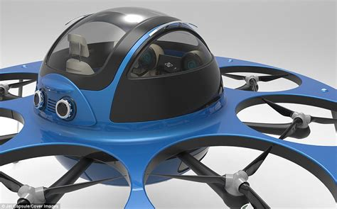 Ufo Drone Seats Two Passengers And Reaches 120mph (190kph