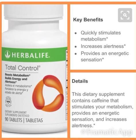 Herbalife Total Control Nutrition Label   Besto Blog