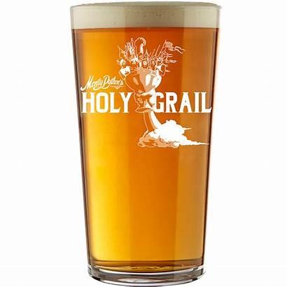 Glass Pint Grail Monty Holy Python Merchandise