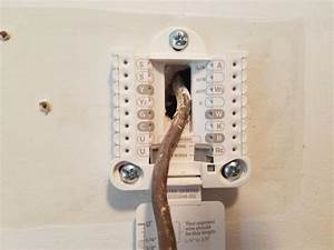 Help Wiring New Honeywell From Old Mercury Thermostat