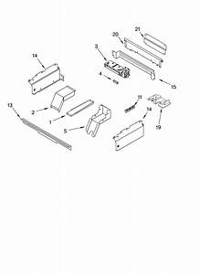 Whirlpool Rs696pxgb10 Electric Range Parts