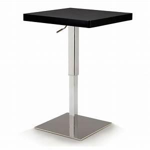 Haute Table De Bar : table de bar carree haute ~ Edinachiropracticcenter.com Idées de Décoration